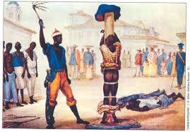 Escravo sendo chicoteado; praça; bolsa; mercado de escravos; Escravo; desemprego, Crise económica, emprego