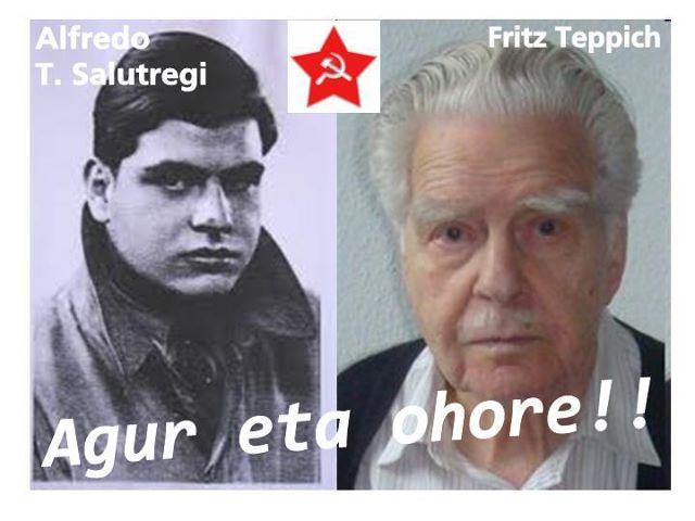 "HA MUERTO FRITZ TEPPICH, ""ALFREDO T SALUTREGI""  baskinfo"