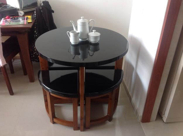 Decora hogar comedores modernos y peque os para comer con for Decoracion de apartamentos modernos pequenos