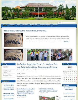 Website Universitas Jember