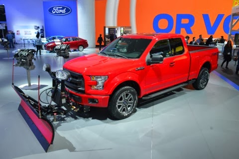 The All-New F-150's Snow Plow Solution
