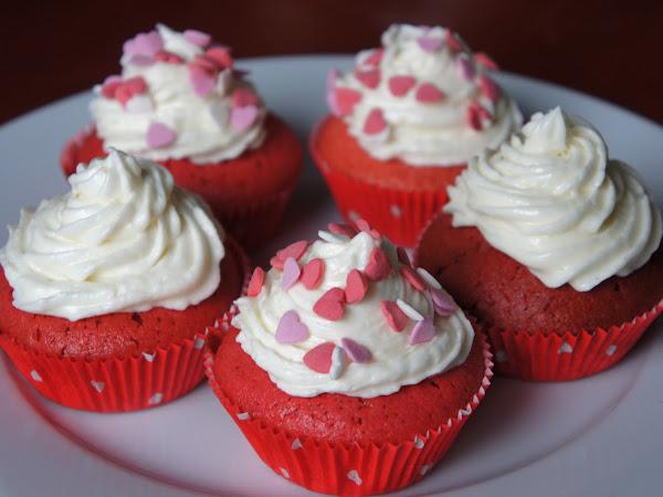 REZEPT: glutenfreie Red Velvet Cupcakes