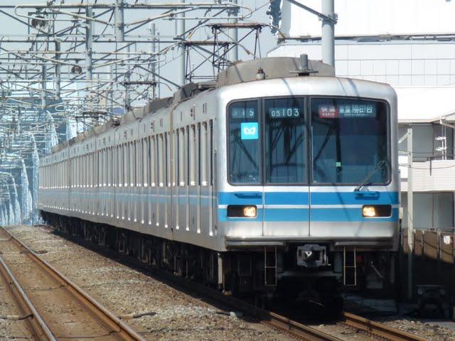 東京メトロ東西線 快速 東葉勝田台行き2 05系幕式