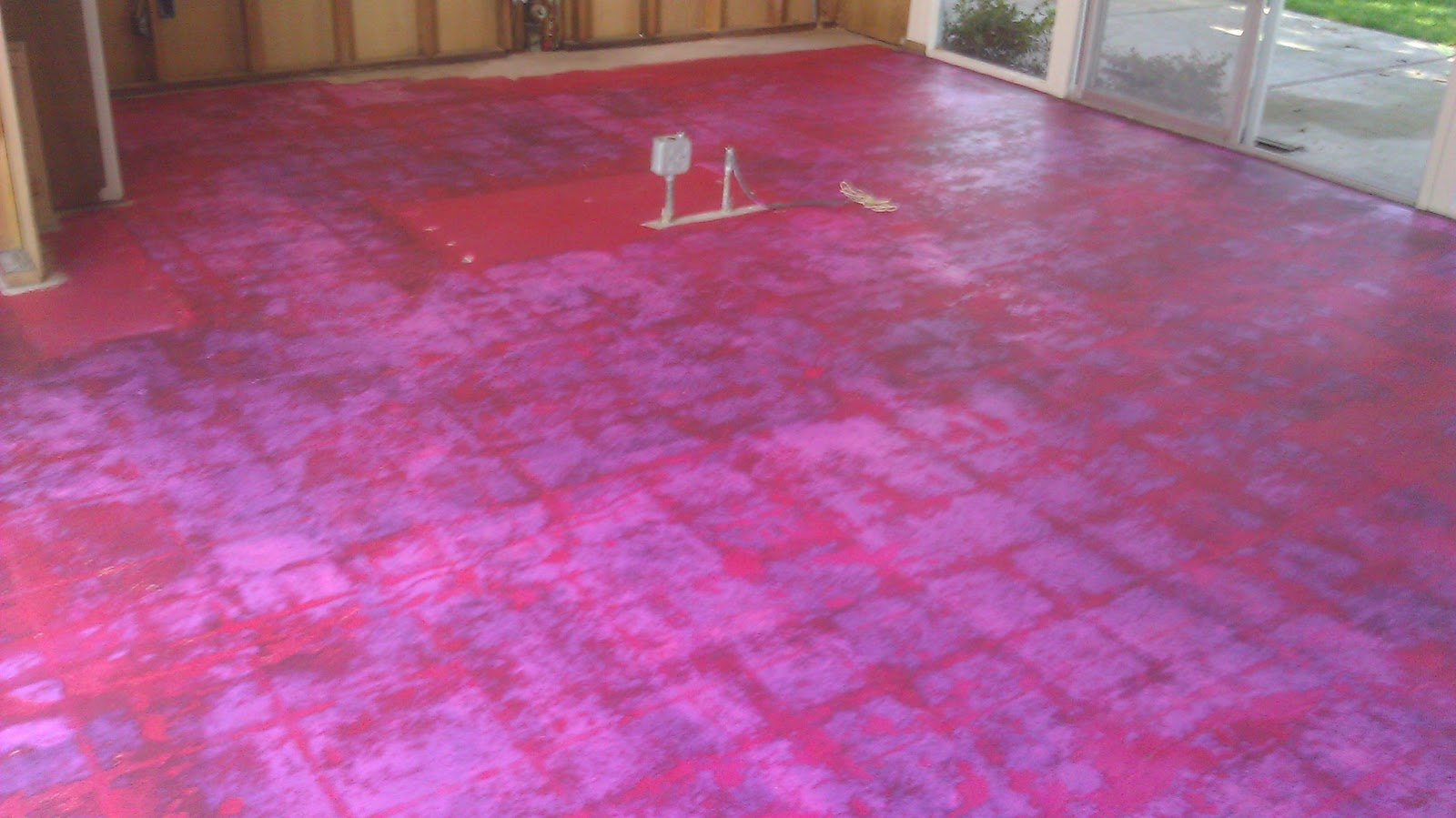 Eichler Bug Floor Demolition Complete Prep For Tile Installation