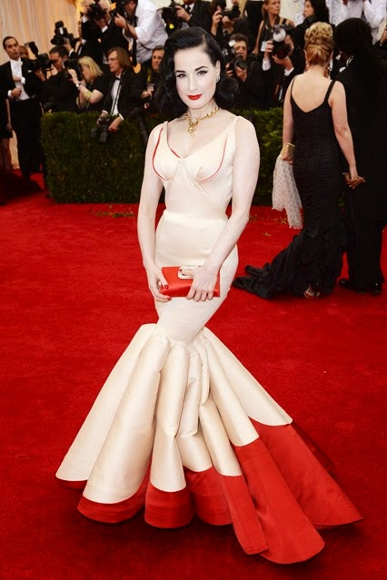 Red Carpet Met Gala 2014