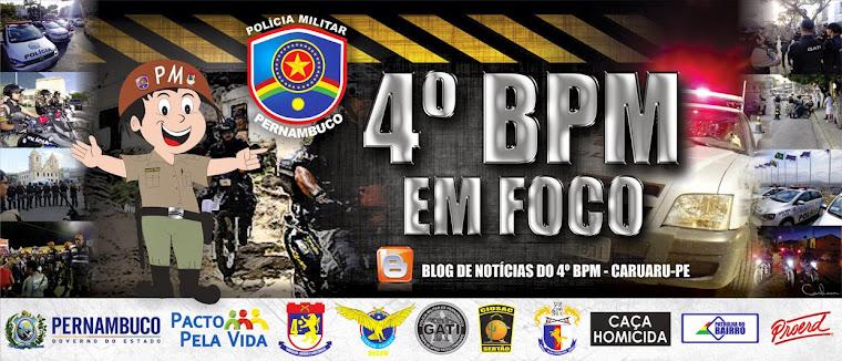 4º BPM em Foco - Caruaru/PE
