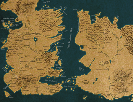 Game Of Thrones World Map