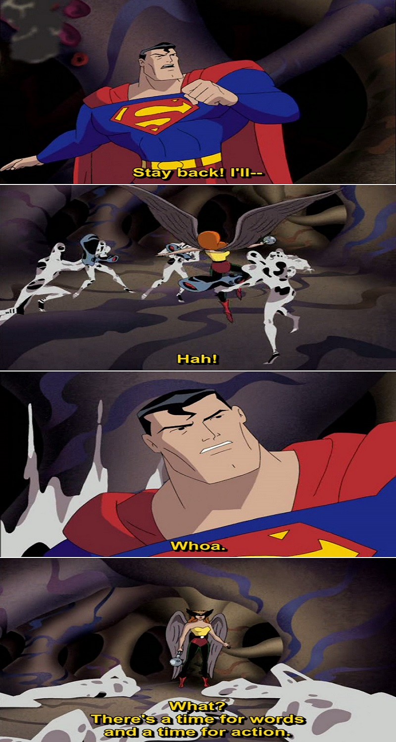 Quote from Justice League Animated Series
