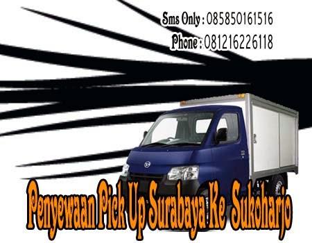 Penyewaan Pick Up Surabaya Ke Sukoharjo