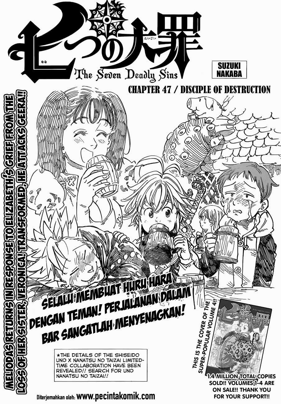 Komik nanatsu no taizai 047 - desciple of destruction 48 Indonesia nanatsu no taizai 047 - desciple of destruction Terbaru 1|Baca Manga Komik Indonesia