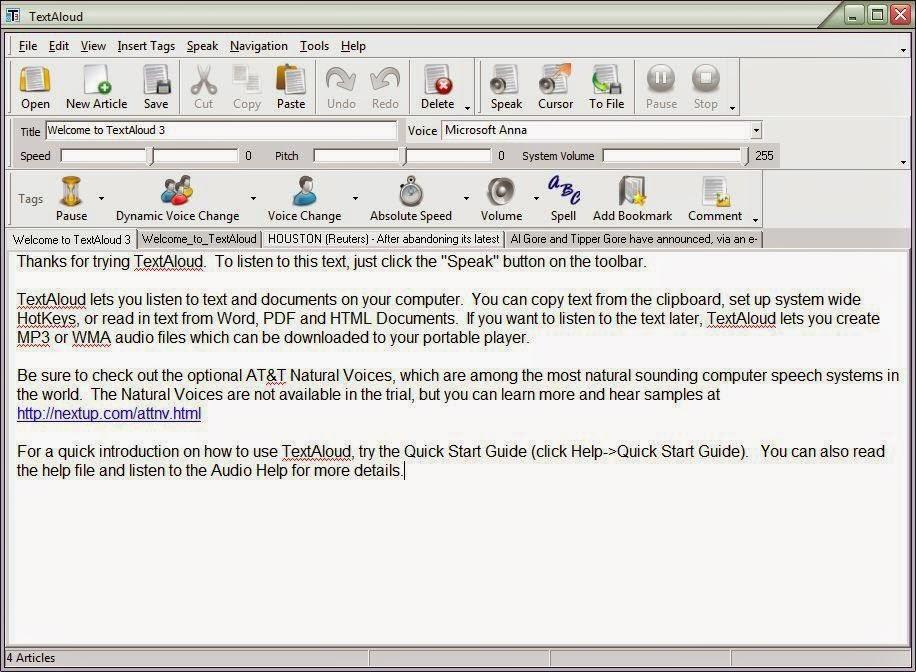 NextUp TextAloud 3.0.76 Full - Free Download