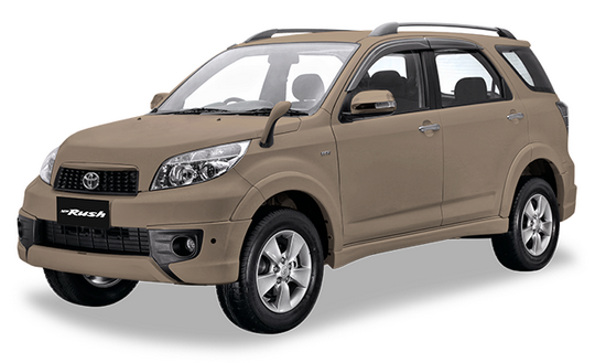 Toyota New Rush Champange Metallic