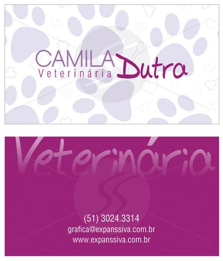 cartoes de visita veterinarios 03 - 15 lindos Cartões de Visita de Veterinários