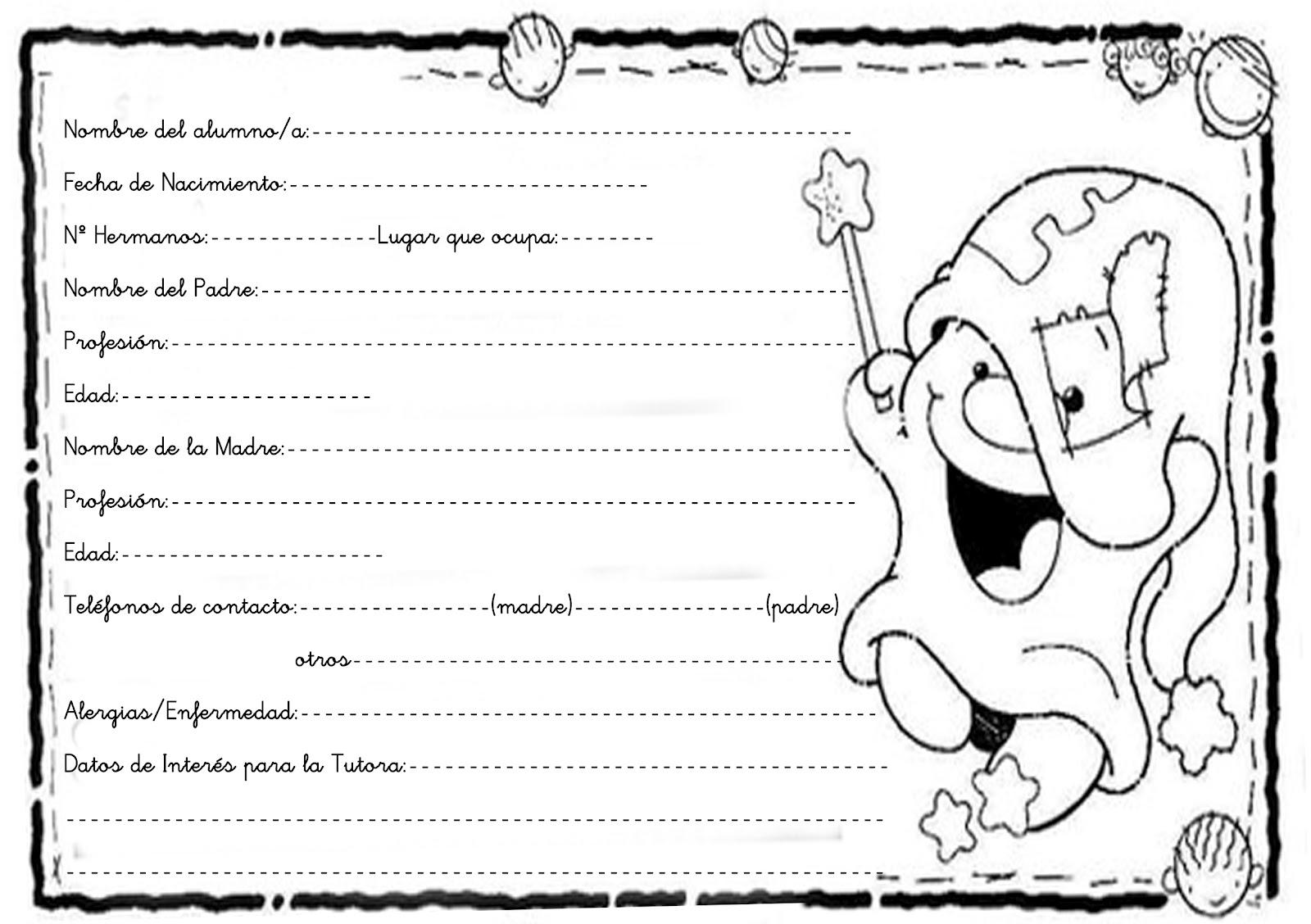 Dulce Infantil: Recordatorio REUNIÓN DE BIENVENIDA. 1º INFANTIL