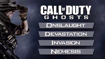 call of duty ghosts dlc screen