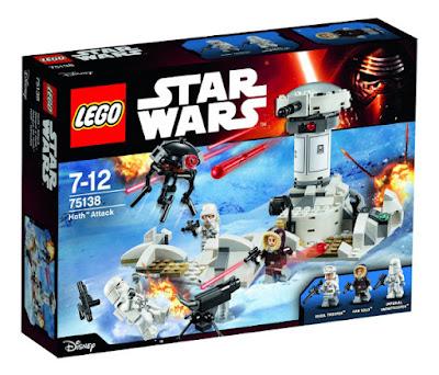 TOYS : JUGUETES - LEGO Star Wars  75138 Ataque a Hoth | Hoth Attack   Producto Oficial 2016 | Piezas: 233 | Edad: 7-12 años  Comprar en Amazon España & buy Amazon USA