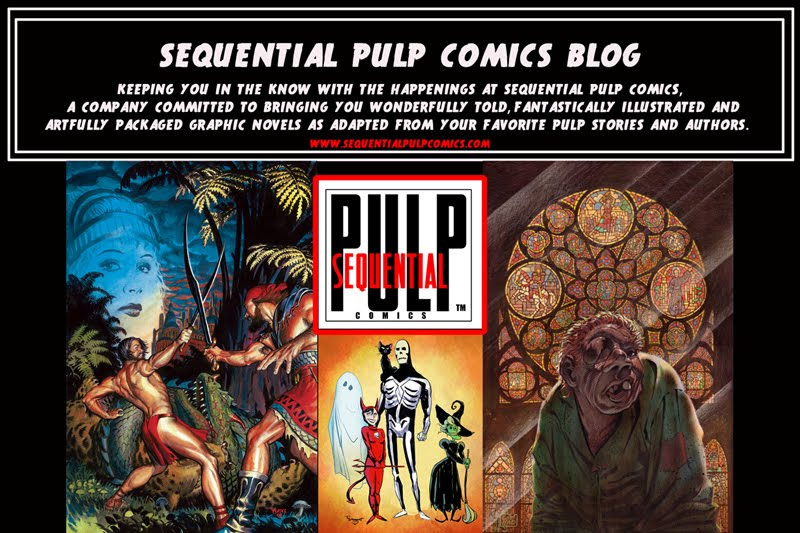 Sequential Pulp Comics Blog