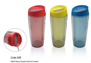 "CENTRUM LINK - ""400ml NOLAN Double Walled TUMBLER"" - Model 265"