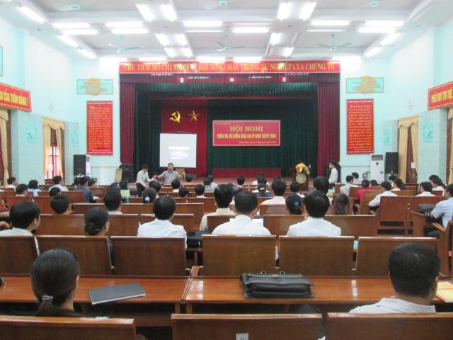 Hội nghị nâng cao kỹ năng thuyết trình