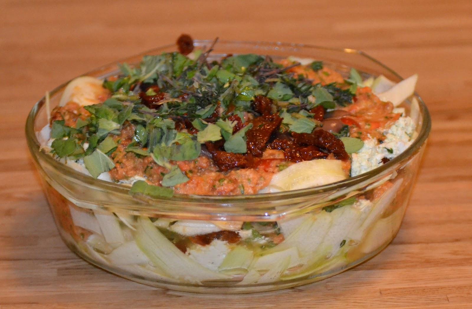 Warzywkowo Lazania Raw Food Witarianska