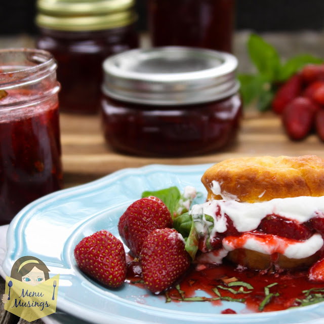 Strawberry Basil Jelly