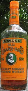 100 proof Old Grand Dad Whiskey, bottled in Bond.  Bonded