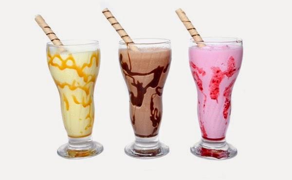 Milk Shakes Caseiros