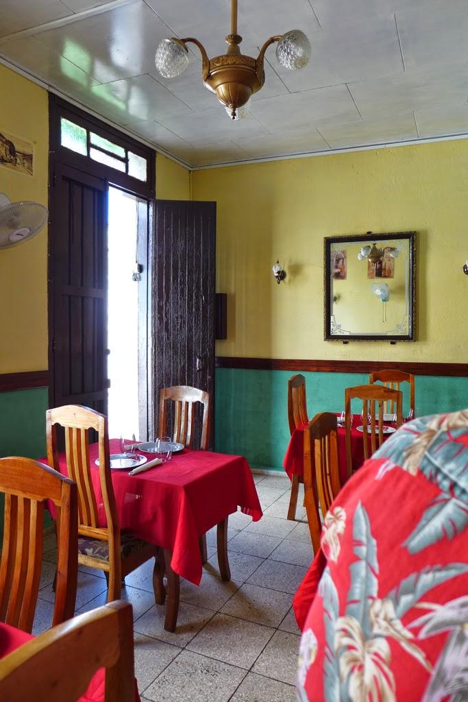 Santiago de Cuba paladar Primos Twice restaurant
