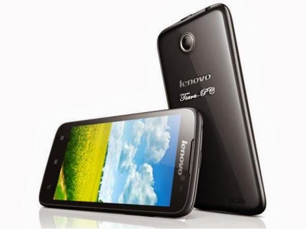Lenovo S930 yang mendukung 2G GSM dan 3G HSDPA dengan Dual SIM GSM