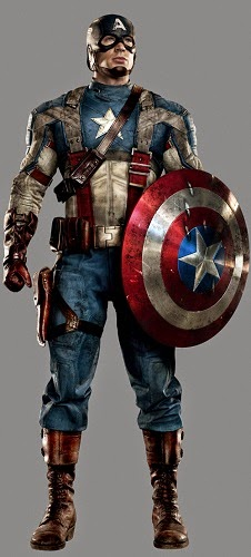 Kostum Captain America Howard Stark Field
