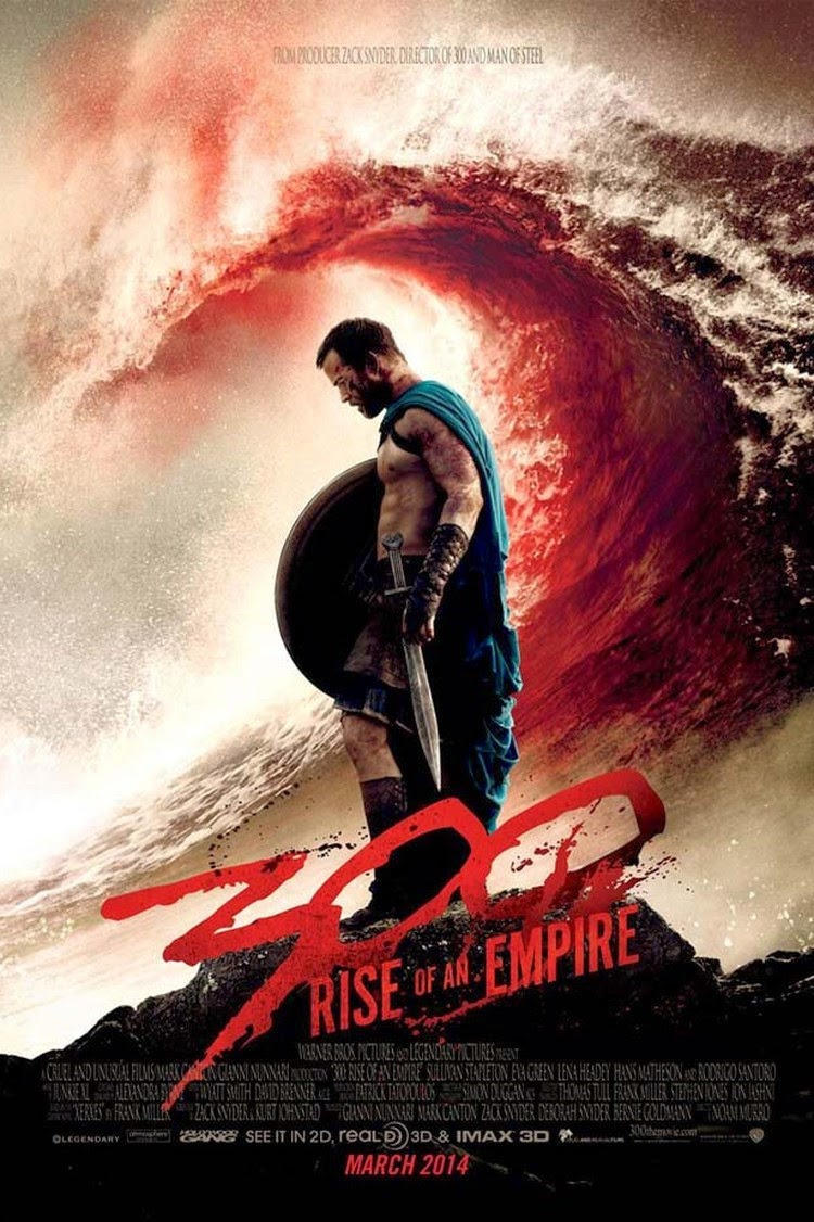 300 Rise Of An Empire (2014) BluRay 720p 800MB
