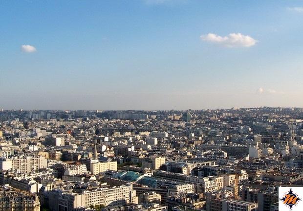 Parigi, vista panoramica dalla Tour Eiffel