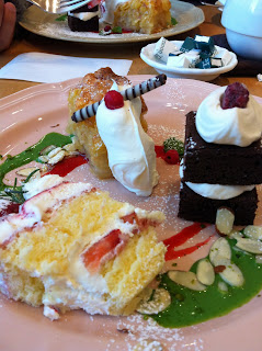 afternoon tea, japan, cake, christmas
