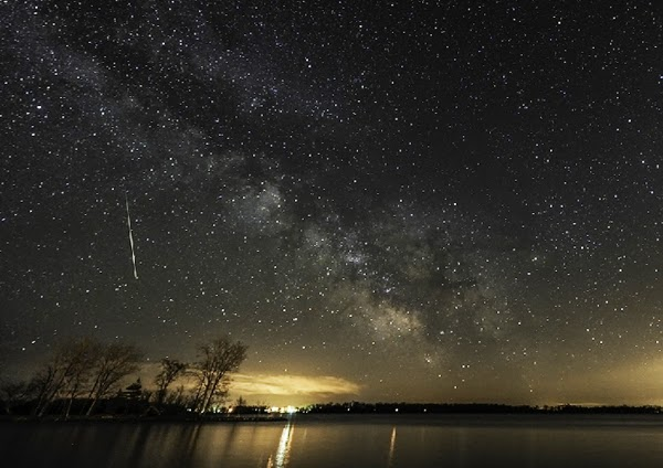GALERI: Indahnya Hujan Meteor Eta Aquarid