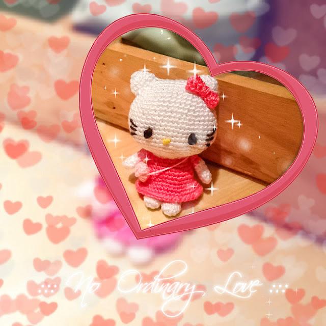 crocheted hello kitty amigurumi