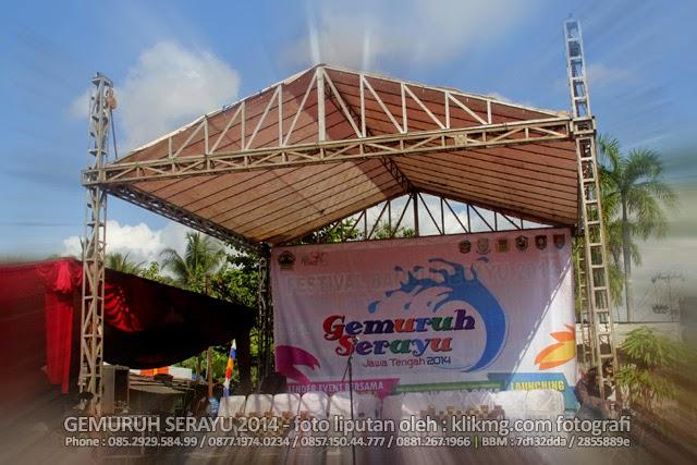 Gemuruh Serayu 2014 di Alun alun kecamatan Banyumas - 10 Agustus 2014