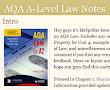UK Law Revision (LLB & A-Level)