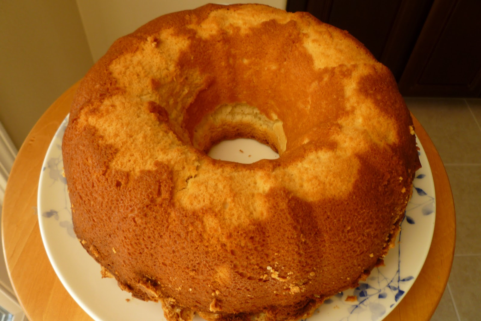 Cream Cheese Pound Cake - made July 13, 2013 from Rosie's All-Butter ...