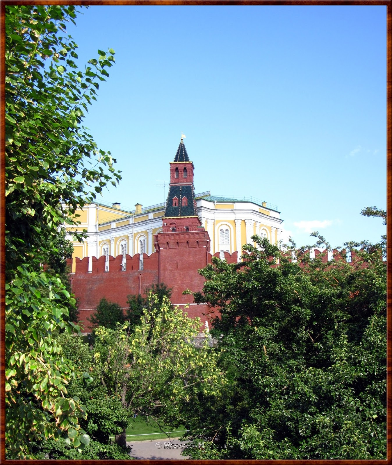 The Armoury (Oruzheinaya) Tower (Konyushennaya, Stables) of Moscow Kremlin