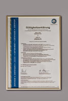 Certificat ISO Impact de Mediu