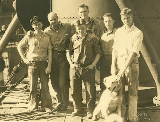 Admiral Byrd Antarctic Expedition II 1933-1935, Dog Driver Team, including Francis S. Duke Dane