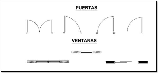 Construcci n interpretaci n de planos planos for Representacion grafica de planos arquitectonicos