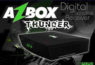 PORTAL Atualização Azbox Thunder V. 0.001 26/12