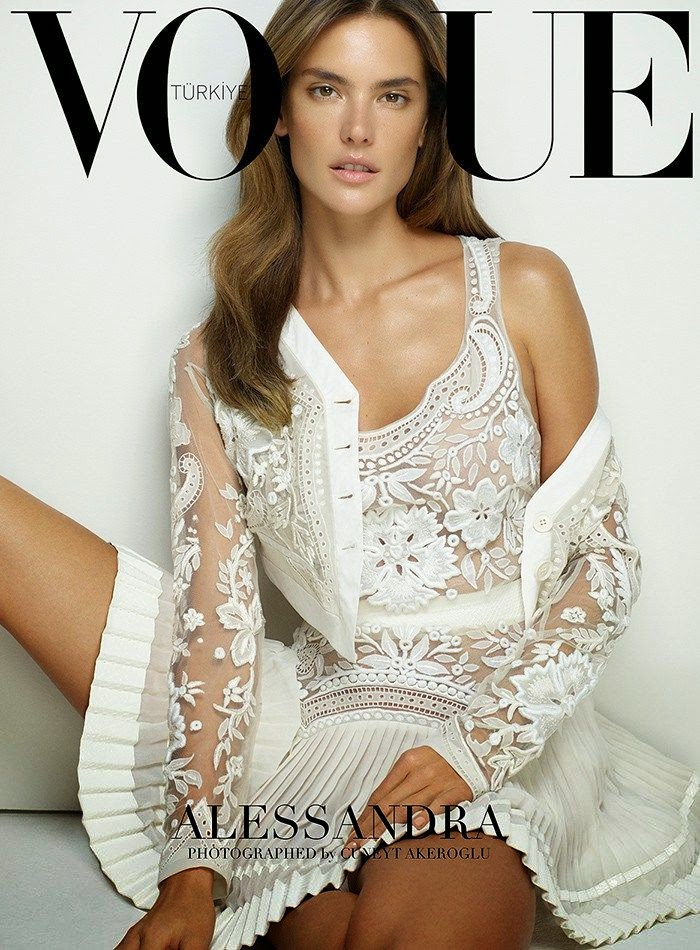 Alessandra Ambrosio VOGUE Turkey, March 2015