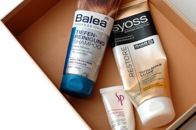Aufgebraucht Balea Tiefenreinigungs Shampoo und Syoss Spülung