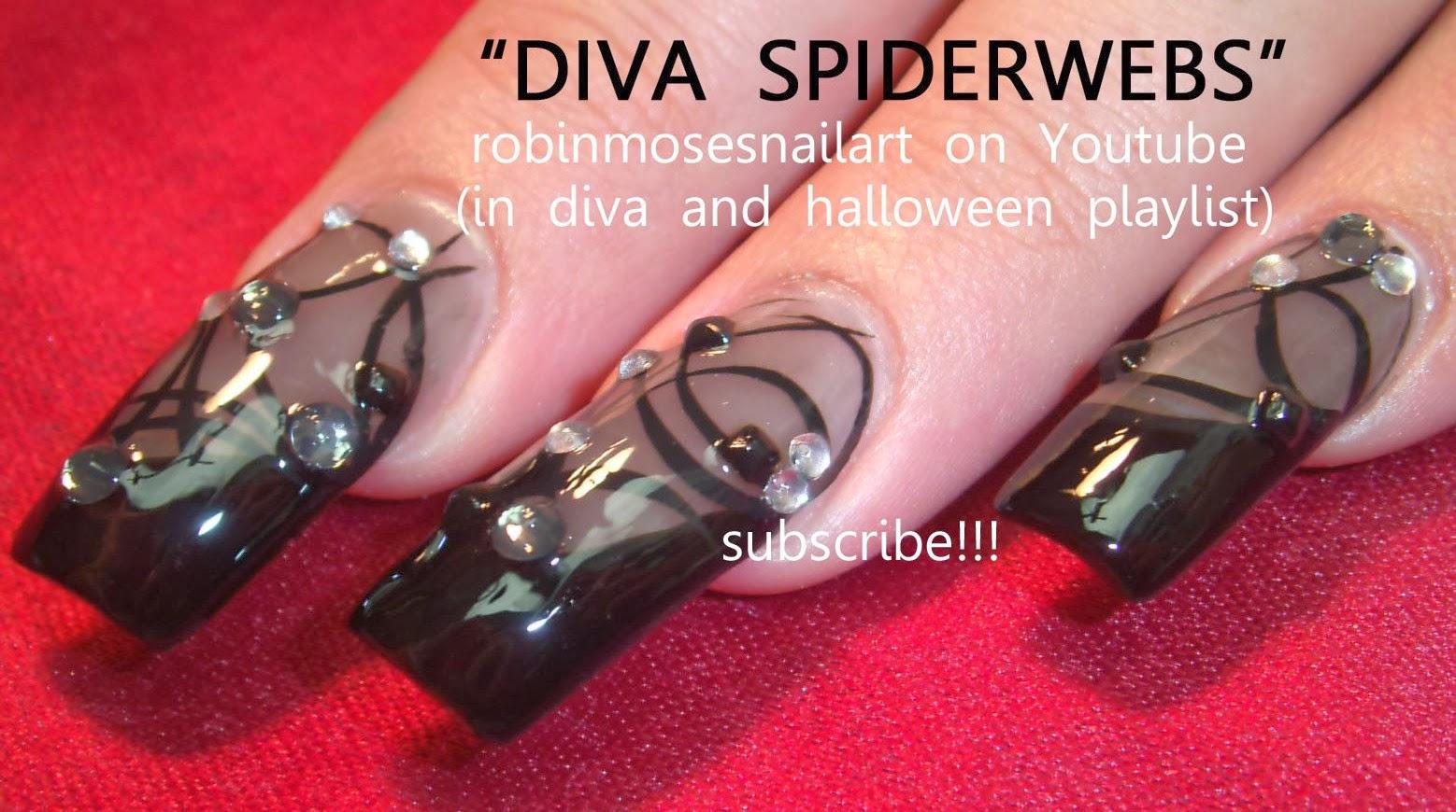 Robin moses nail art diva nails party girl nails swag nails nail porn prinsesfo Image collections