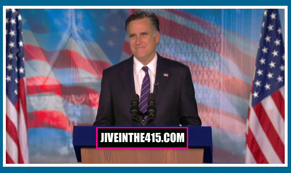 Willard Mitt Romney delivers his concession speech 11/07/2012.