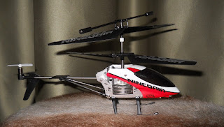 minihelicoptero radiocontrol