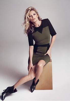 British supermodel Kate Moss Fall Winter 2012 Campaign