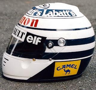 Il casco di Riccardo Patrese